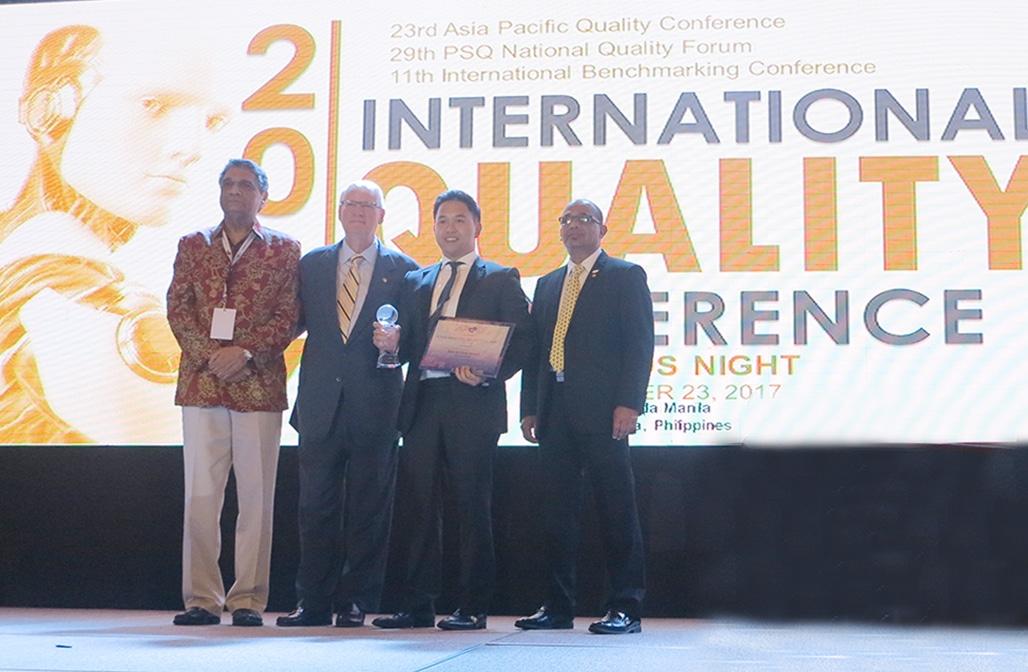 Thép Việt Đức đạt Giải thưởng Chất lượng châu Á - Thái Bình Dương 2017