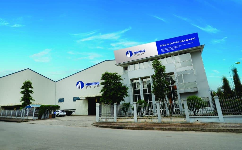 Trụ sở Công ty CP Thép Minh Phú