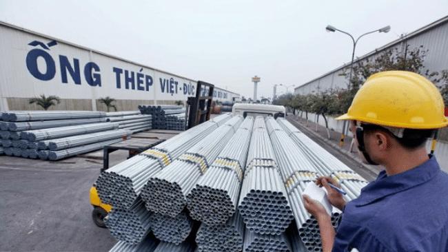 Công ty TNHH Thép Nam Phú - Đại lý chính thức cung cấp ống thép Việt Đức tại Hải Phòng