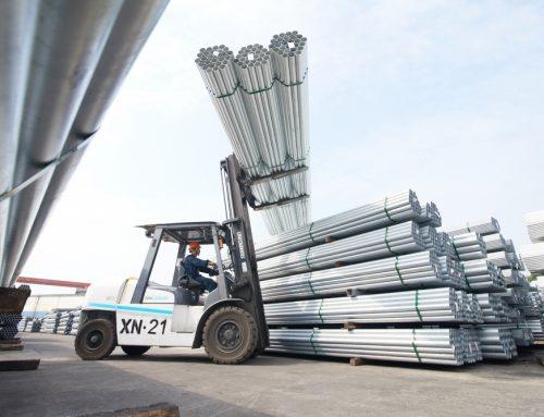 Lượng tiêu thụ ống thép Hòa Phát tăng mạnh 6 tháng đầu năm